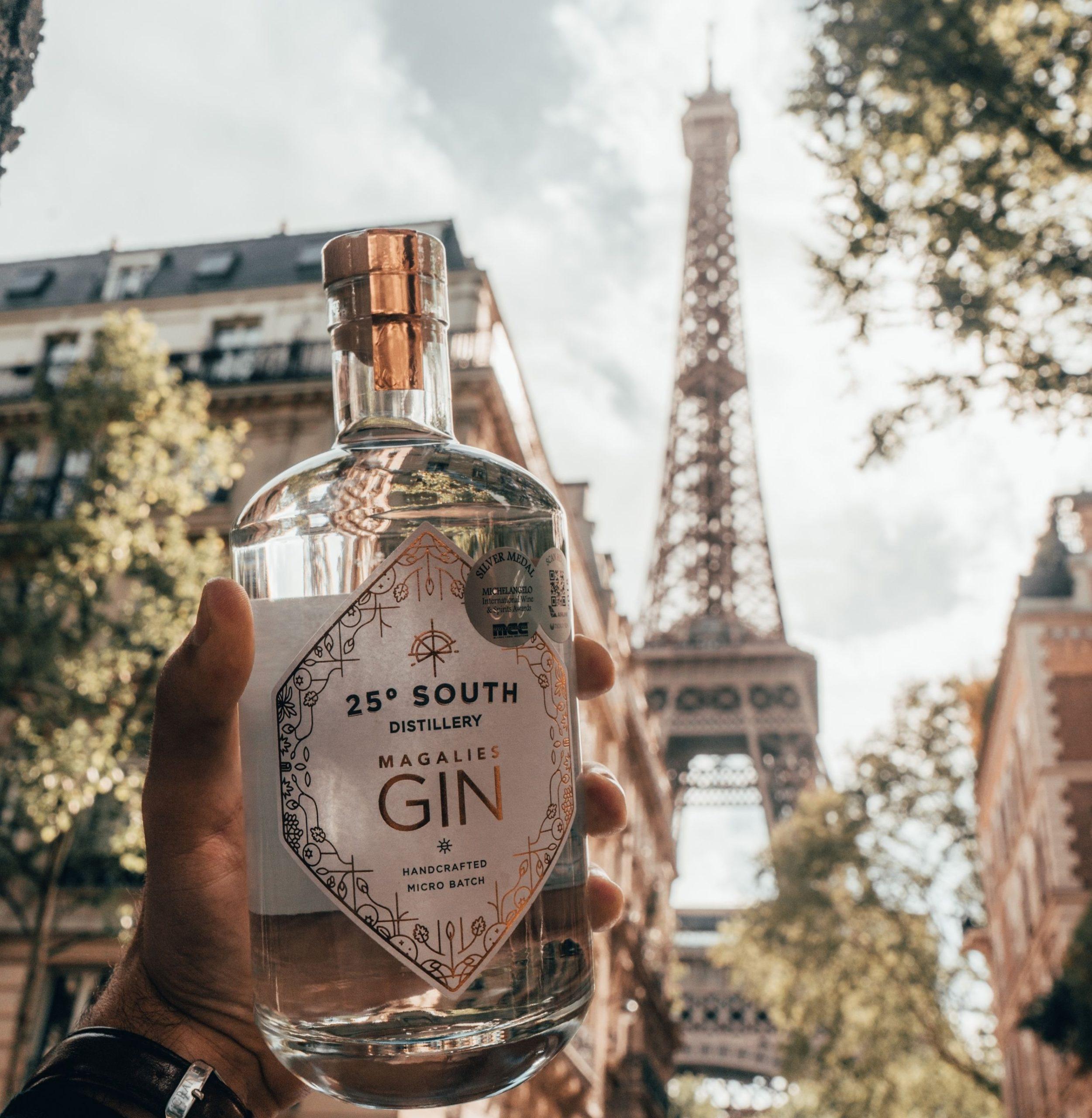 Magalies Craft Gin in France made in Pretoria